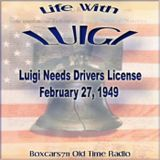 Life With Luigi - Luigi Needs Drivers License (02-27-49)