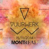 Caspar LIVE At Vuurwerk November 2014 Club Montreal