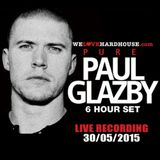 Pure Paul Glazby 2015 LIVE RECORDING