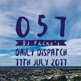 057 - DJ Paine's  Daily Dispatch