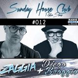 SUNDAY HOUSE CLUB @ Radio Canale Italia #012 | ZAGGIA + DIEGO BROGGIO | free download