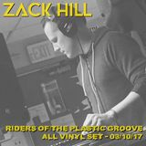 Zack Hill - Live on KUCI Riders of the Plastic Groove [All Vinyl Mix]