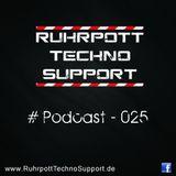 Ruhrpott Techno Support - PODCAST 025 - Ben-Butcher