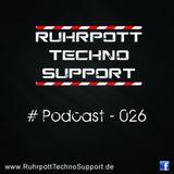 Ruhrpott Techno Support - PODCAST 026 - StecKer