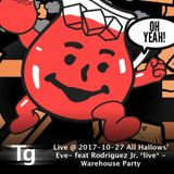 Live Set 2017-10-27 @ All Hallows' Eve- feat Rodriguez Jr. *live* - Warehouse Party