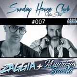 SUNDAY HOUSE CLUB @ Radio Canale Italia #007 | ZAGGIA + MAURIZIO SACCHI | free download