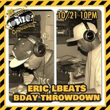 Eric LBeats 45 vinyl Mobile Mondays Birthday Mix 10/21/2013
