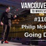 #116: Philip McKernan   Going Deep
