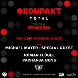 Michael Mayer @ Space Ibiza / Kompakt TOTAL Presented By Kehakuma (2015-06-20)