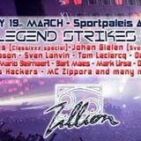 Sven Lanvin - live @ Zillion, The Legends Strikes Back (Sportpaleis, Antwerp) – 19.03.2016