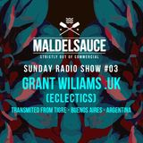 Sunday Radioshow #03 Guestmix by Grant Williams 15/10/17