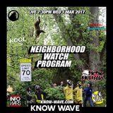 Neighborhood Watch Program #7 -March 1st 2017