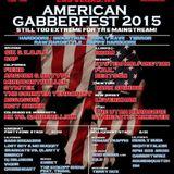 American Gabberfest 2015 Liveset