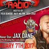 Pipebomb Radio with special guests Jax Dane and Lucha Locura