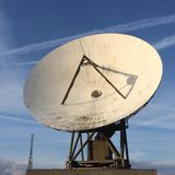 Hello Moon, this is Goonhilly calling! The longest distance call via the Moon!