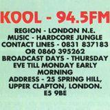 DJ Tonic & Ash - Kool 94.5 FM - 3rd October 1992