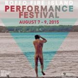 Docking Audio Program for BOFFO Performance Festival 2015