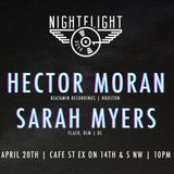 Hector Moran b2b Sarah Myers 4/20/17 @ NightFlight DC
