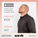 Richie Don Podcast #131 Aug 2017 | House - Garage - Bass - RnB - Top5 - Club Bangers - BassBox @djri