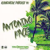 Klangwerk Radio Show - EP044 - Antonino Pace (Total Groove)