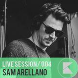 KONTRAST Live Sessions #4 - Sam Arellano