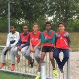 Nadja Awad var med och arrangerade nattfotbollen i Brickebacken