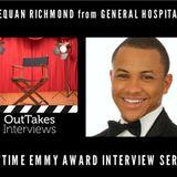 Tequan Richmond (TJ Ashford, GENERAL HOSPITAL) -- Daytime Emmy Award Series #3