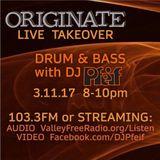 Show 126--3-11-17--Orignate Guest Mix - Second Hour