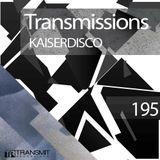 Transmissions 195 with Kaiserdisco