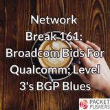 Network Break 161: Broadcom Bids For Qualcomm; Level 3's BGP Blues