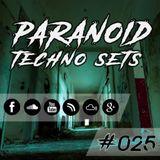 Paranoid Techno Sets #025 // Elhase