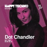 Techno: Fernanda Martins aka Dot Chandler @ Happy Techno JUL/2016 - Spain
