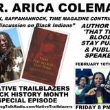 Dr. Arica Coleman - Black Indian, Author, Speaker and Writer for TIME Magazine