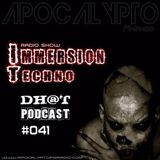 Dhot - Immersion Techno RadioShow #41 (04.01.2017)
