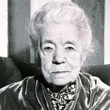 Selma Lagerlöf tackar för 80-årsuppvaktningen 1938