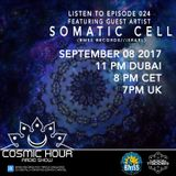 Cosmic Hour Radio Show with Moon Tripper - Episode 024 Guest Artist Somatic Cell (BMSS Records)