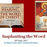 Implanting the Word