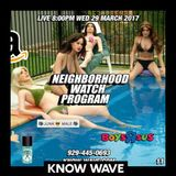 Neighborhood Watch Program #12 - April 5th 2017