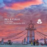 Rey & Kjavik - Robot Heart - Burning Man 2016