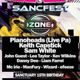 ZONE @ SANCTUARY 15TH BIRTHDAY - PIANOHEAD PA / DJ SAM WHITE - APR 2017 - *FREE DOWNLOAD*