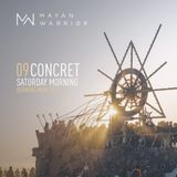 Concret - Mayan Warrior - Burning Man 2017