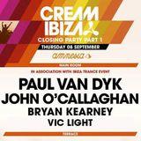Vic Light Live @ Cream Ibiza, Amnesia Closing Party (Part 1) (08-09-2016)