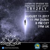 Cosmic Hour Radio Show with Moon Tripper - Episode 023 Guest Artist Try2Fly (BMSS Records)