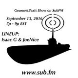 Sept 2016 Gourmet Beats show on SubFM