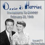 The Adventures Of Ozzie & Harriet - Invitations To Dinner (02-20-49)