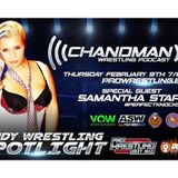 Chandman Wrestling Podcast LIVE with Samantha Star and Youtuber Mark E. Extreme