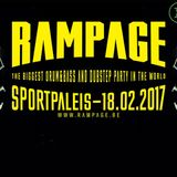 LOADSTAR b2b DC BREAKS b2b MIND VORTEX ft DAXTA MC - live @ Rampage 2017 - 18.02.2017