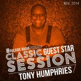 SOULSIDE RADIO CLASSIC GUEST SESSION - TONY HUMPHRIES (NOV 2014)