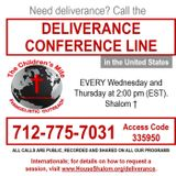 EPISODE 224 - Weekly Deliverance Group Session 10-25-17