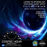 Cosmic Hour Radio Show With Moon Tripper - Episode 021 Guest Artist Psilocybian (BMSS Records)
